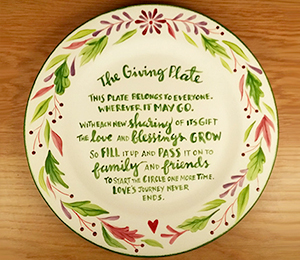 Beverly Hills The Giving Plate