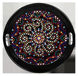 Beverly Hills Mosaic Mandala Tray