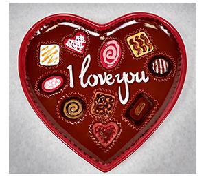 Beverly Hills Valentine's Chocolate