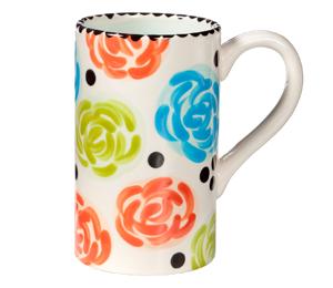Beverly Hills Simple Floral Mug
