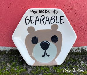 Beverly Hills Bearable Plate