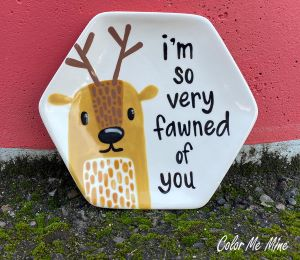 Beverly Hills Fawn Plate