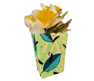 Beverly Hills Leafy Vase