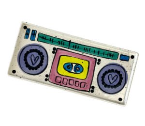 Beverly Hills Boombox Tray